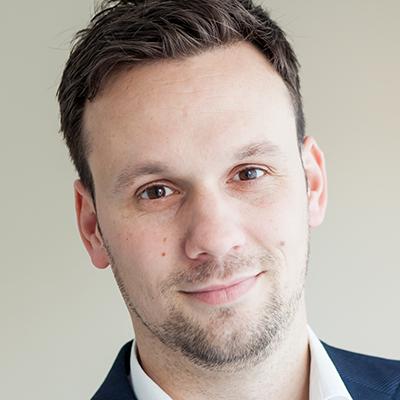 Portret van Joël Aerts en is inzetbaar als spreker voor uw evenement