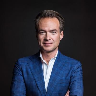 Portret van Antoin Peeters en inzetbaar als spreker voor uw evenement