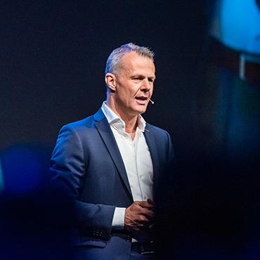 Portret van Björn Kuipers en inzetbaar als spreker voor uw evenement